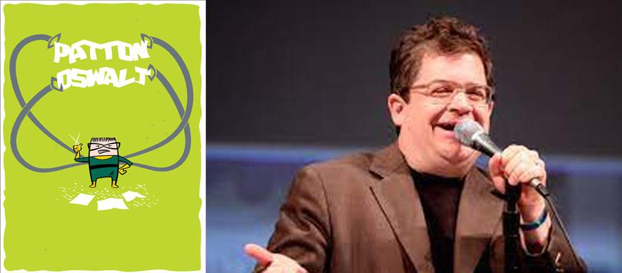 Patton Oswalt at Carnegie Library Music Hall Of Homestead