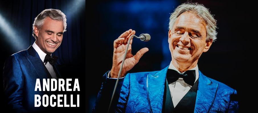 Andrea Bocelli at PPG Paints Arena