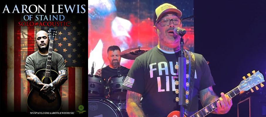 Aaron Lewis at Palace Theatre