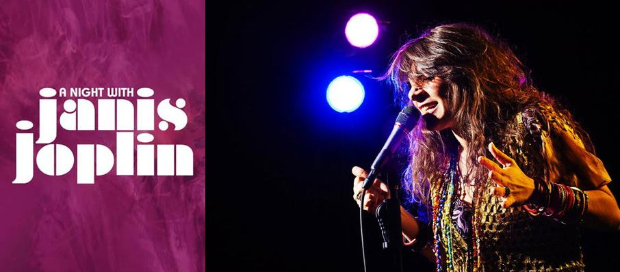 A Night with Janis Joplin at Palace Theatre