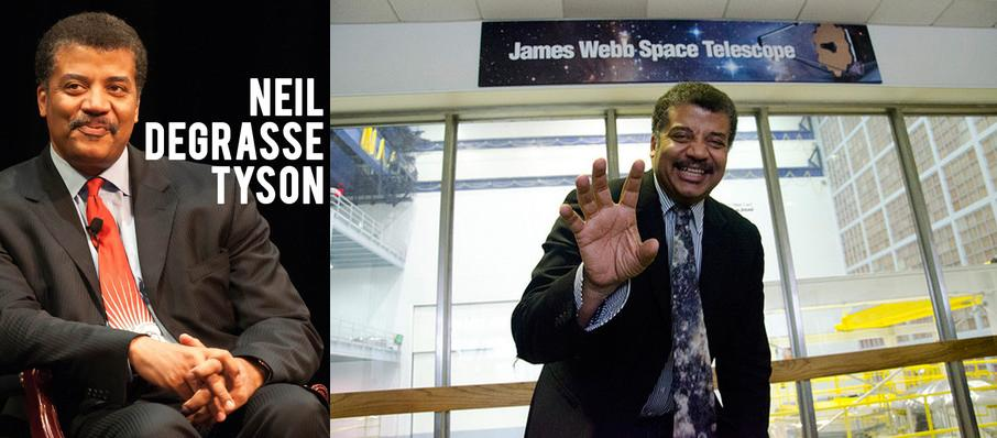 Neil DeGrasse Tyson at Carnegie Music Hall