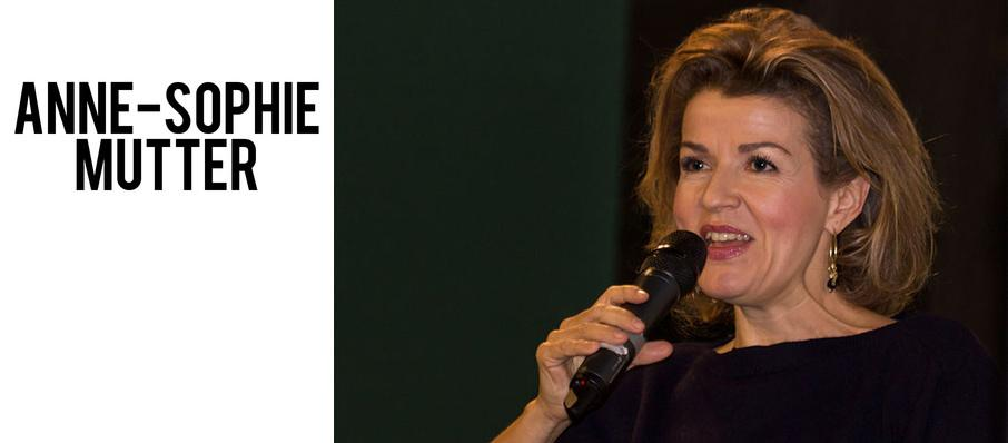 Anne-Sophie Mutter at Heinz Hall
