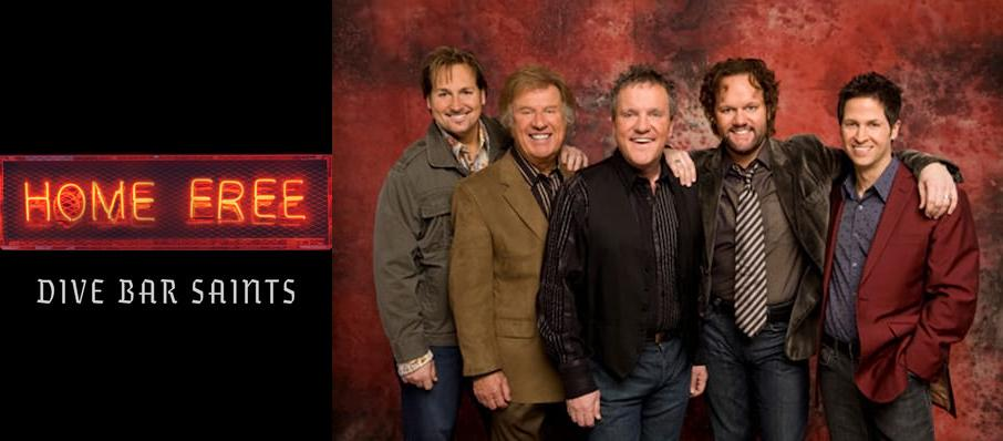 Home Free Vocal Band at Carnegie Library Music Hall Of Homestead