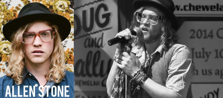 Allen Stone at Carnegie Library Music Hall Of Homestead