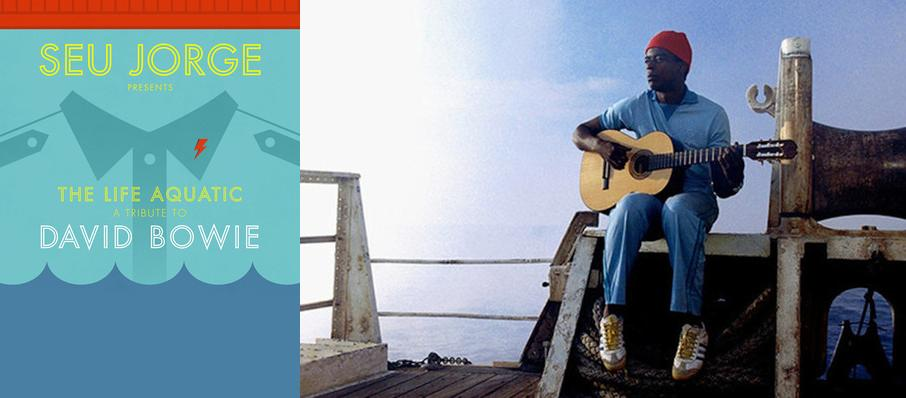 Seu Jorge at Mr Smalls Theater
