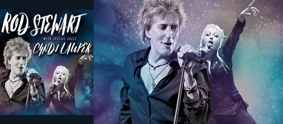 Rod Stewart and Cyndi Lauper at PPG Paints Arena