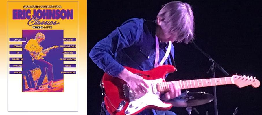 Eric Johnson at Palace Theatre