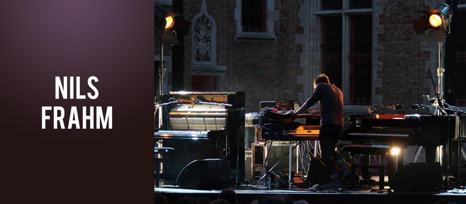 Nils Frahm at Mr Smalls Theater
