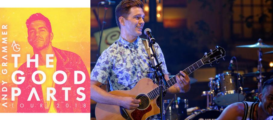 Andy Grammer at Carnegie Library Music Hall Of Homestead