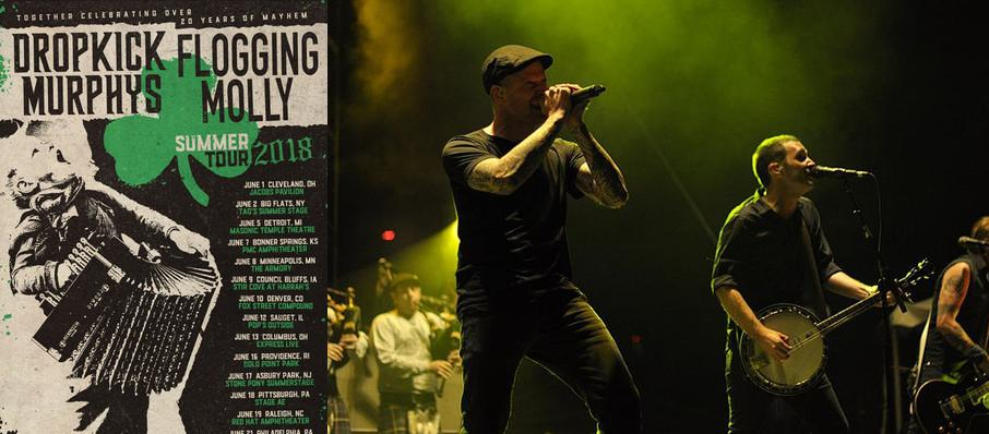 Dropkick Murphys and Flogging Molly at Stage AE