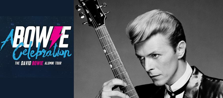 A Bowie Celebration - The David Bowie Alumni Tour at Carnegie Library Music Hall Of Homestead