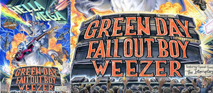 Green Day with Fall Out Boy and Weezer at PNC Park