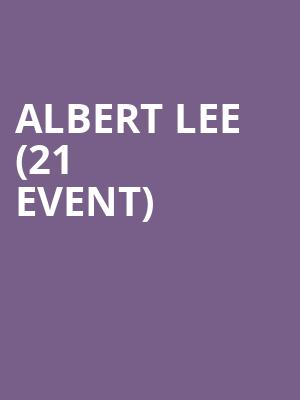 Albert Lee (21+ Event) at Club Cafe