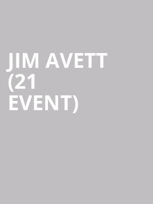 Jim Avett (21+ Event) at Club Cafe