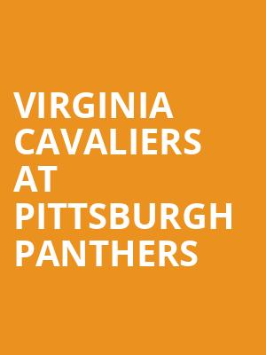 Virginia Cavaliers at Pittsburgh Panthers at Heinz Field