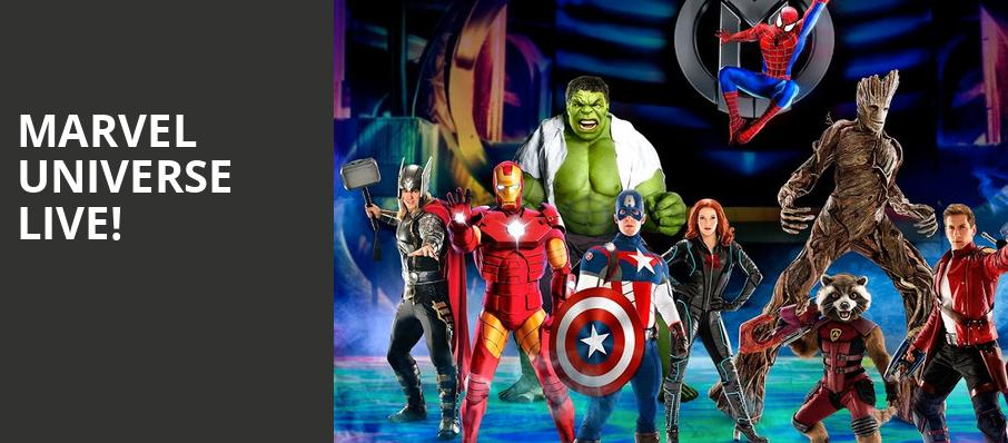 Marvel Universe Live, PPG Paints Arena, Pittsburgh