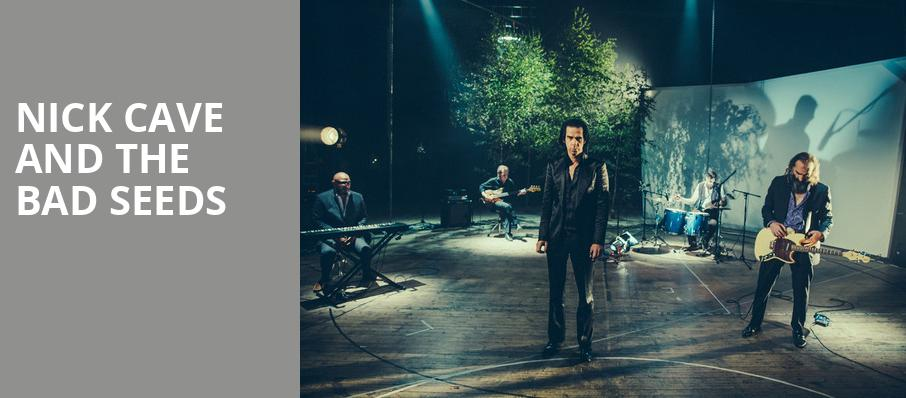 Nick Cave and The Bad Seeds, Carnegie Music Hall, Pittsburgh