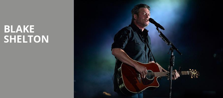 Blake Shelton, PPG Paints Arena, Pittsburgh