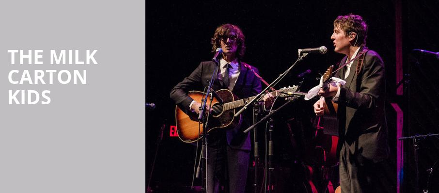The Milk Carton Kids, Mr Smalls Theater, Pittsburgh