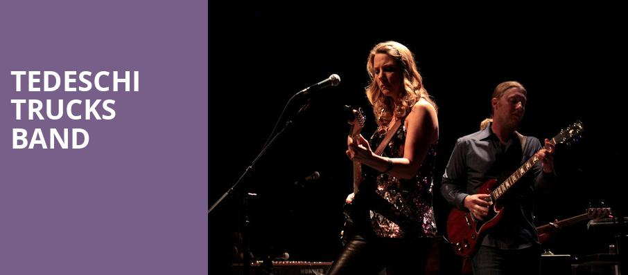 Tedeschi Trucks Band, UPMC Events Center, Pittsburgh