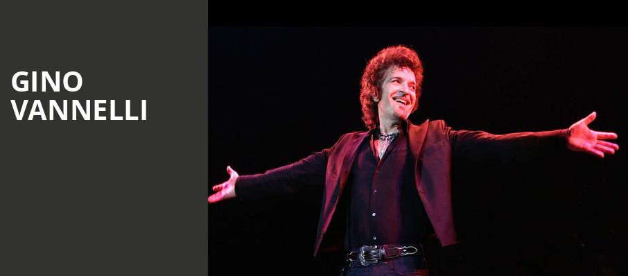 Gino Vannelli, Palace Theatre , Pittsburgh