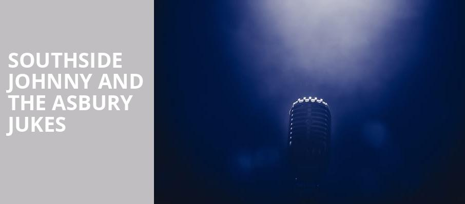 Southside Johnny and The Asbury Jukes, Palace Theatre, Pittsburgh