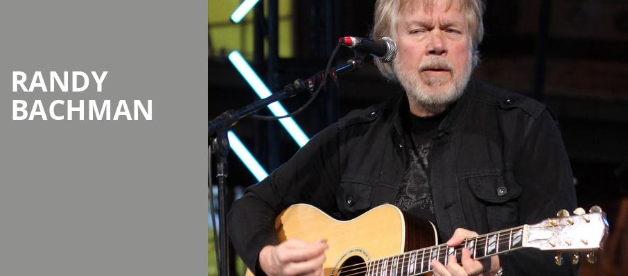 Randy Bachman, Palace Theatre, Pittsburgh