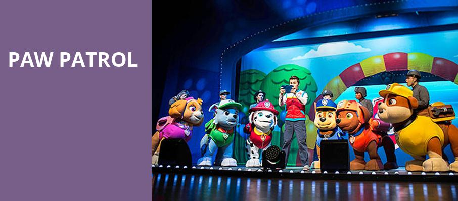 Paw Patrol, Benedum Center, Pittsburgh