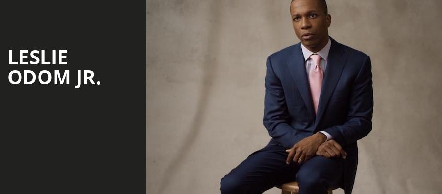 Leslie Odom Jr, Heinz Hall, Pittsburgh
