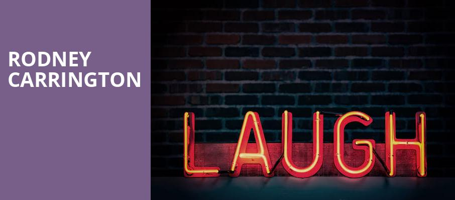 Rodney Carrington, The Meadows, Pittsburgh