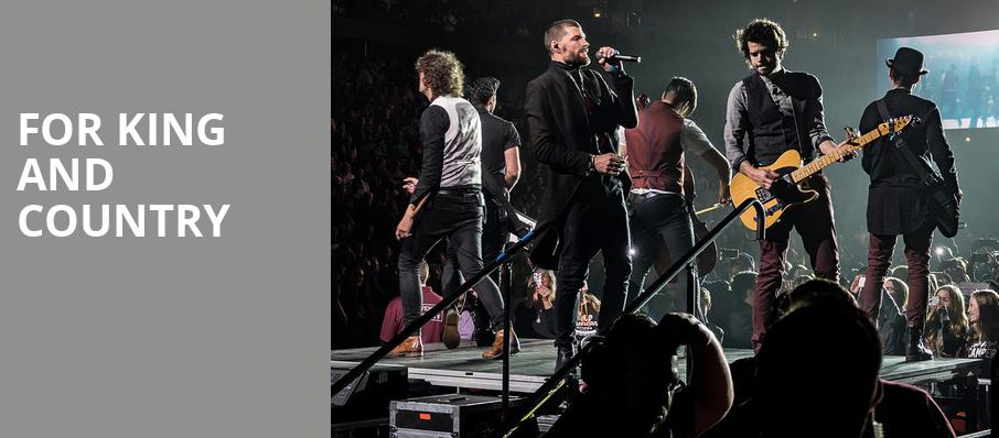 For King And Country, Petersen Events Center, Pittsburgh