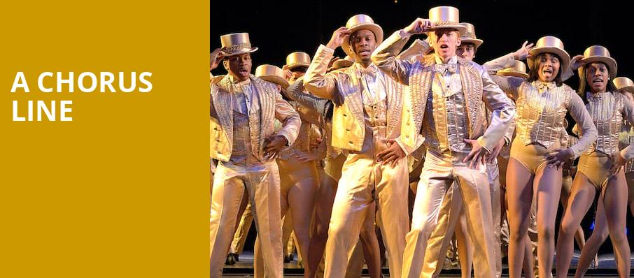 A Chorus Line, Benedum Center, Pittsburgh
