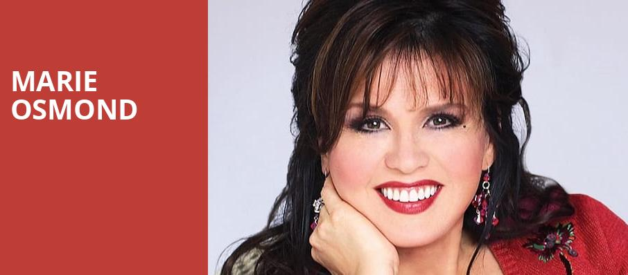 Marie Osmond, Palace Theatre, Pittsburgh