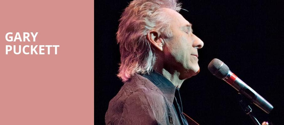 Gary Puckett, Palace Theatre, Pittsburgh