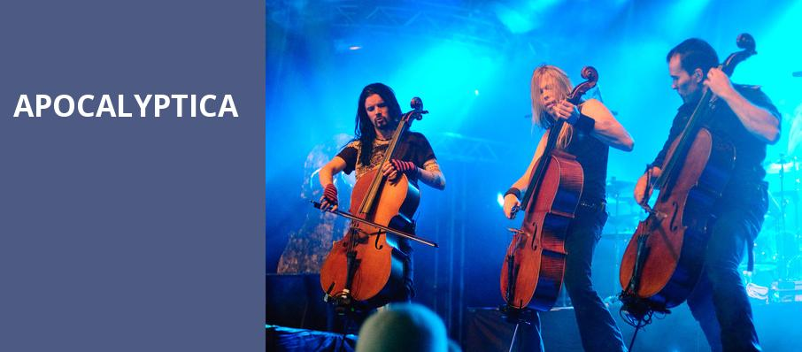 Apocalyptica, Carnegie Library Music Hall Of Homestead, Pittsburgh