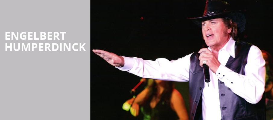 Engelbert Humperdinck, Palace Theatre, Pittsburgh