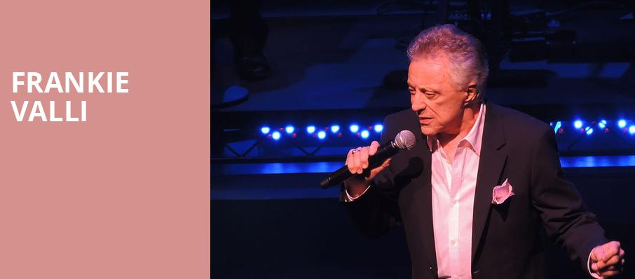 Frankie Valli, Heinz Hall, Pittsburgh