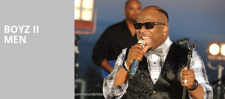 Boyz II Men, Rivers Casino Event Center, Pittsburgh