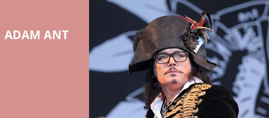 Adam Ant, Palace Theatre , Pittsburgh