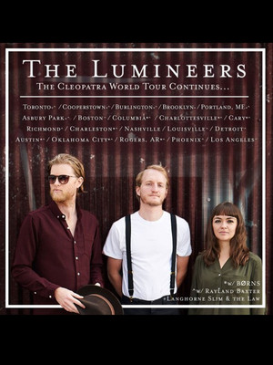 The lumineers rayland baxter petersen events center for 3719 terrace street pittsburgh pa 15261